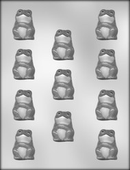 "1-5/8"" FROG CHOCOLATE CANDY MOLD"