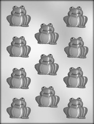 """1 5/8"""" FROG CHOCOLATE CANDY MOLD"""