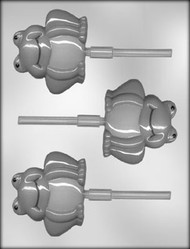 "3 1/4"" FROG SUCKER CHOCOLATE CANDY MOLD"