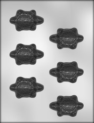 "2-5/8"" TURTLE CHOCOLATE CANDY MOLD"