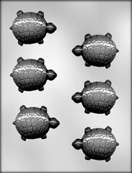 "2-1/2"" TURTLE CHOCOLATE CANDY MOLD."