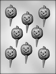 CHOCOPICK-JACK O LAN CHOCOLATE CANDY MOLD