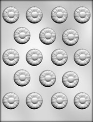 "1-1/4"" DAISY CHOCOLATE CANDY MOLD"
