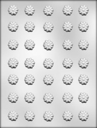"3/4"" DAISIES CHOCOLATE CANDY MOLD"