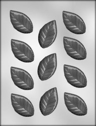 "2-3/8"" ROSE LEAF CHOCOLATE CANDY MOLD"