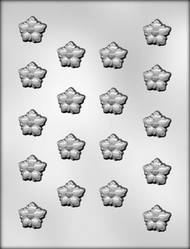 "1-1/8"" APPLE BLOSSOM CHOCOLATE CANDY MOLD"