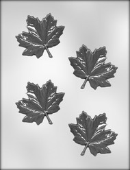 "3"" MAPLE LEAF CHOCOLATE CANDY MOLD"