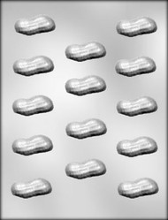 "1-3/4"" PEANUT SHELL CHOCOLATE CANDY MOLD"