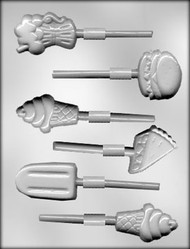 "2"" - 2-1/2"" SODA FTN/ICE CREAM TREAT SKR CHOCOLATE CANDY MOLD"