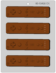 VIDEO GAMES CONTROLLER CHOCOLATE CANDY MOLD