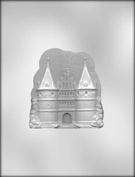 "4-1/2"" CASTLE CHOCOLATE CANDY MOLD"