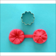 5-Petal Flower Veiner--Silicone & Cutter - 3-pieces