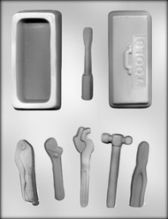 "4-1/2"" TOOL BOX/TOOLS CHOCOLATE CANDY MOLD"