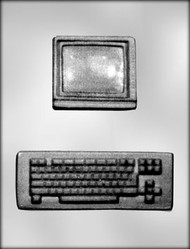 "3"" & 6"" COMPUTER CHOCOLATE CANDY MOLD"