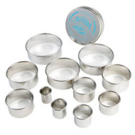 CUTTER SET-ROUND--11 Piece Set