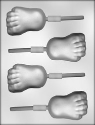 "3"" FOOT SUCKER CHOCOLATE CANDY MOLD"