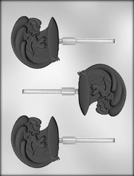 "2-5/8"" SURFER GUY SKR CHOCOLATE CANDY MOLD"