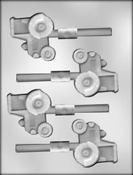 "2-1/2"" TRACTOR SUCKER CHOCOLATE CANDY MOLD"