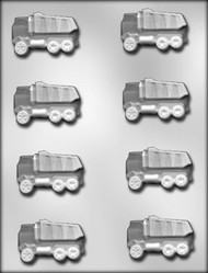 "2-1/4"" DUMP TRUCK CHOCOLATE CANDY MOLD"