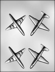 "3 1/2"" 3D AIRPLANE CHOCOLATE CANDY MOLD"