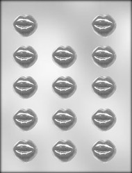 "1-3/8"" SMOOCHETTES CHOCOLATE CANDY MOLD"