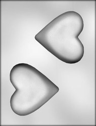 "3-3/4"" HEART CHOCOLATE CANDY MOLD"
