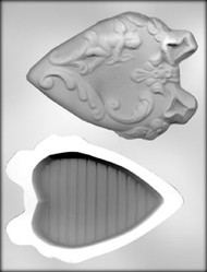 "6-1/4"" HEART BOX /CUPID CHOCOLATE CANDY MOLD"