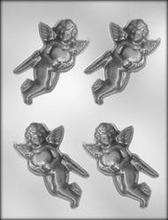 "4-1/4"" CUPID CHOCOLATE CANDY MOLD"