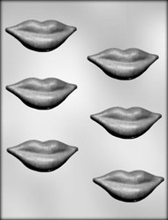 "3"" LIPS CHOCOLATE CANDY MOLD"