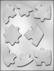 "6"" HEART PUZZLE CHOCOLATE CANDY MOLD"