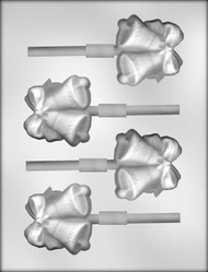 "2-1/4"" DOUBLE BELL SUCKER CHOCOLATE CANDY MOLD"