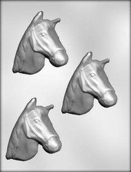 "3-5/8"" HORSEHEAD CHOCOLATE CANDY MOLD"