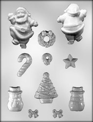 "7/8-2 7/8"" Christmas Accessories Chocolate-Candy Mold"