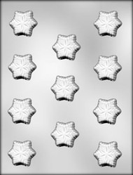 "1-1/2"" SNOWFLAKE CHOCOLATE CANDY MOLD"