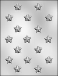 "1"" STAR CHOCOLATE CANDY MOLD"