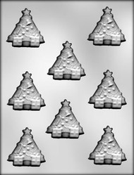"2"" CHRISTMAS TREE CHOCOLATE CANDY MOLD"