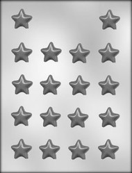 "1-1/8"" STAR CHOCOLATE CANDY MOLD"