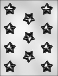 "1-1/4"" PUFFY STAR CHOCOLATE CANDY MOLD"