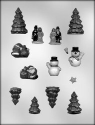 "1/2"" - 2-1/8"" MINI VILLAGE ACCESS CHOCOLATE CANDY MOLD"