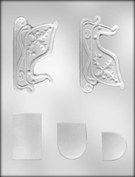 "4-1/4"" SLEIGH 3D CHOCOLATE CANDY MOLD"