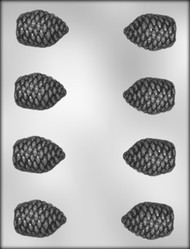 "2""3D PINECONE CHOCOLATE CANDY MOLD"