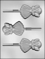 "3-1/2"" ANGEL SUCKER CHOCOLATE CANDY MOLD"