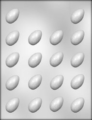 "1-3/8"" EGG CHOCOLATE CANDY MOLD"