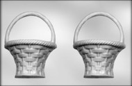 "7-1/2"" 3D BASKET CHOCOLATE CANDY MOLD"