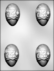 "3"" HAPPY EASTER EGG CHOCOLATE CANDY MOLD"