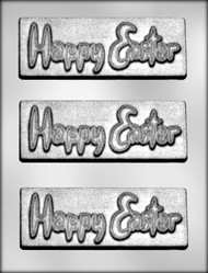 "5-7/8"" EASTER BAR CHOCOLATE CANDY MOLD"