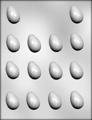 "1-1/2"" EGG CHOCOLATE CANDY MOLD."