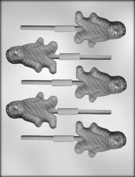 "2-3/4"" MUMMY SUCKER CHOCOLATE CANDY MOLD"
