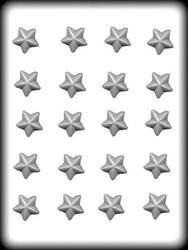 """1"""" STARS HARD CANDY MOLD"""