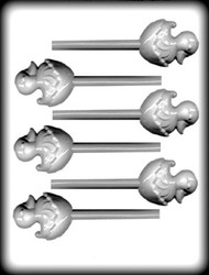 "1-1/8"" DUCK IN SHELL SUCKER HARD CANDY MOLD"